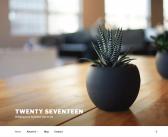 WordPressのテーマTwenty Seventeen